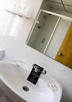 Hotel Auto Hogar bathroom