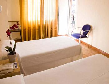 Hotel Auto Hogar bedroom