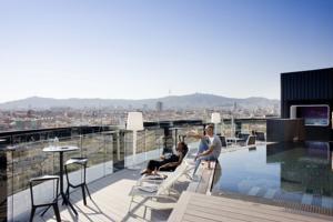 Hotel Barcelo Raval terrace