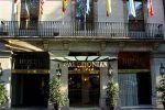 Hotel Caledonian entrance