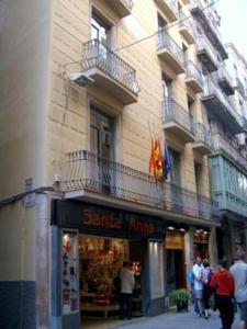 Hotel Catalunya entrance
