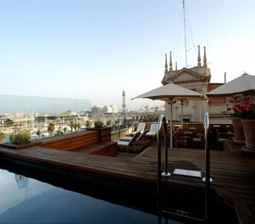 Hotel Duquesa de Cardona pool
