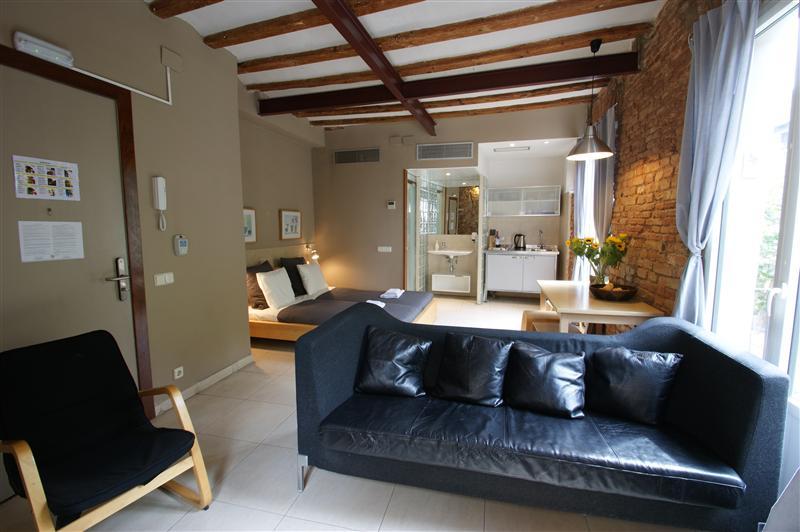 Apartments Borne lounge