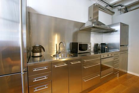 Apartments FG Gothic flat 3 kitchen