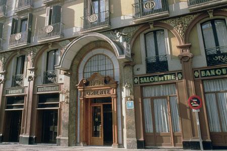 Hotel Husa Oriente entrance