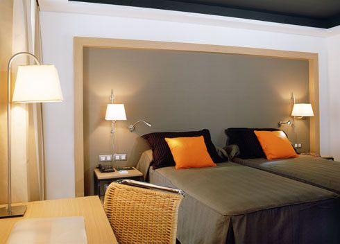 Hotel Jazz bedroom