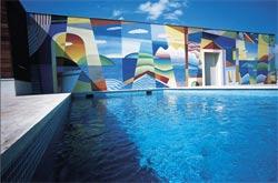Hotel Majestic exterior pool