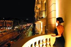 Hotel Majestic balcony